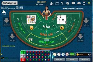Cách thức đánh gấp thếp khi chơi baccarat trực tuyến